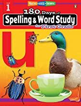 180 Days of : Spelling & Word Study (Grade 1) - Kool Skool The Bookstore
