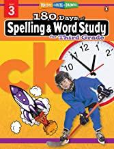 180 Days of : Spelling & Word Study (Grade 3) - Kool Skool The Bookstore