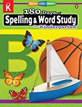180 Days of : Spelling & Word Study (Kindergarten) - Kool Skool The Bookstore