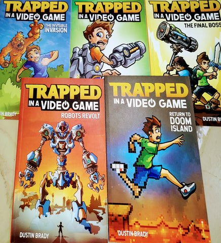 Trapped In A Video Game Complete Set - Paperback