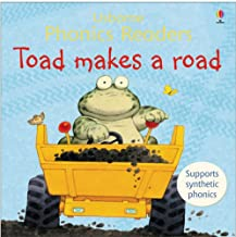 Usborne Phonics Readers : Toad Makes a Road - Kool Skool The Bookstore