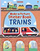 Trains Usborne Sticker Book - Kool Skool The Bookstore