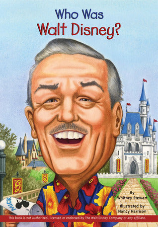 Who Was Walt Disney? - Paperback - Kool Skool The Bookstore