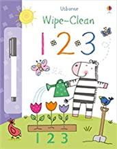 Usborne Wipe-Clean : 123 - Kool Skool The Bookstore