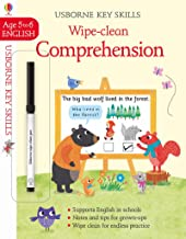 Usborne Wipe-Clean :  Comprehension Age 5-6 - Kool Skool The Bookstore