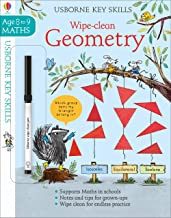 Usborne Wipe-Clean :  Geometry Age 8-9 - Kool Skool The Bookstore