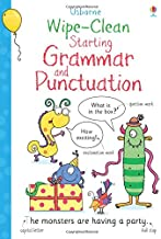 Usborne Wipe-clean :  Starting Grammar and Punctuation - Kool Skool The Bookstore