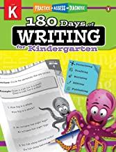 180 Days of : Writing (Grade Kindergarten) - Kool Skool The Bookstore