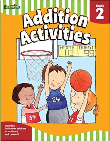 Addition Activities : Grade 2 - Kool Skool The Bookstore