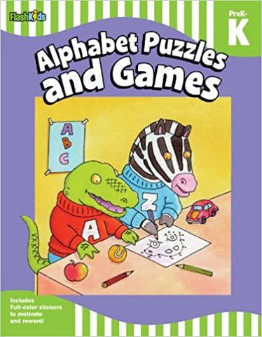 Alphabet Puzzles and Games: Grade Pre-K-K - Kool Skool The Bookstore