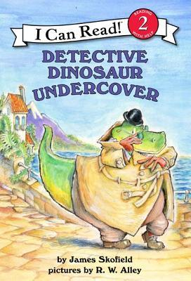 I Can Read Level 2: Detective Dinosaur Undercover -Paperback