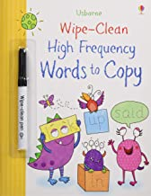 Usborne Wipe-Clean :  High-Frequency Words to Copy - Kool Skool The Bookstore