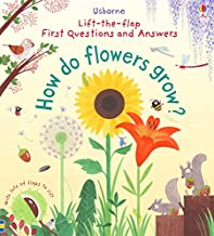 Usborne First Lift-the-Flap First Q&A: How Do Flowers Grow? - Kool Skool The Bookstore