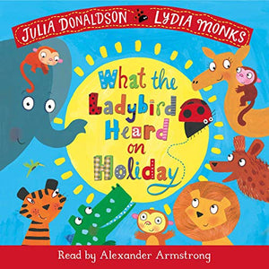 What the Ladybird Heard on Holiday Book & CD Pack - Paperback - Kool Skool The Bookstore