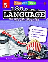 180 Days of : Language (Grade 5) - Kool Skool The Bookstore