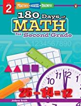 180 Days of : Math (Grade 2) - Kool Skool The Bookstore