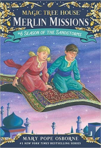 Magic Tree House Merlin Missions #6 : Season of the Sandstorms - Kool Skool The Bookstore