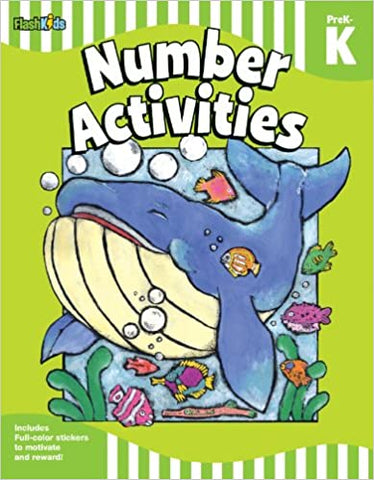 Number Activities: Grade Pre-K-K - Kool Skool The Bookstore