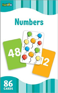 Numbers Flash Cards - Kool Skool The Bookstore