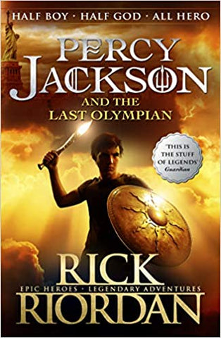 Percy Jackson and the Last Olympian (Book 5) - Paperback - Kool Skool The Bookstore