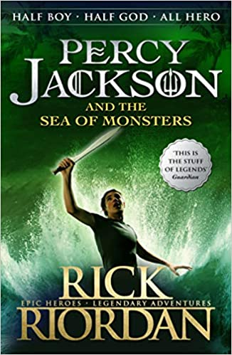 Percy Jackson and the Sea of Monsters (Book 2) - Kool Skool The Bookstore