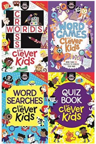 Collection Of Clever Kids Set Of 4 Books - Paperback