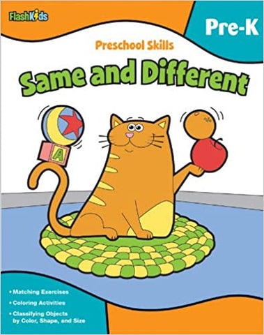 Preschool Skills: Same and Different - Kool Skool The Bookstore