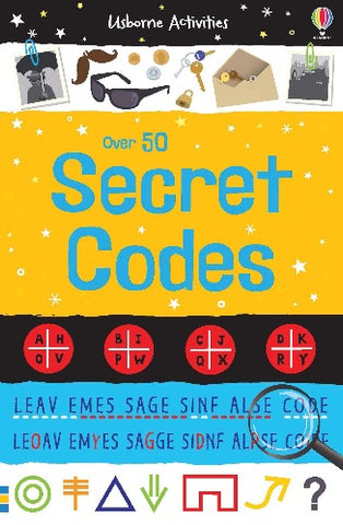 Usborne 50 Secret Codes - Kool Skool The Bookstore