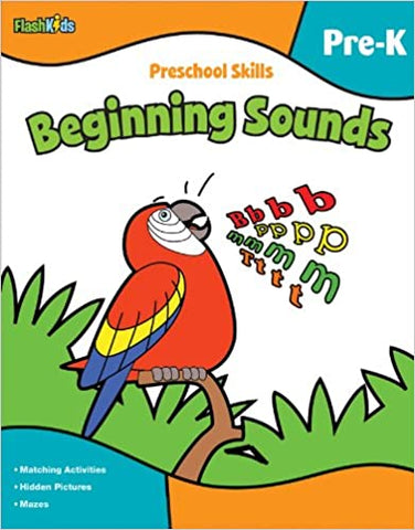 Preschool Skills: Beginning Sounds - Kool Skool The Bookstore