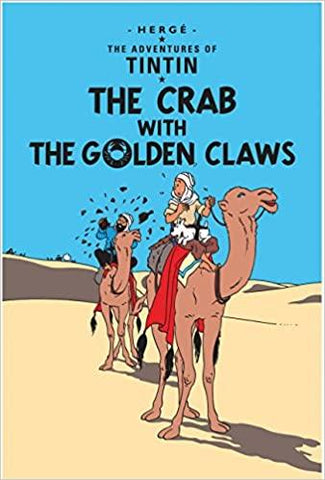 Adventures of Tintin : The Crab with the Golden Claws - Kool Skool The Bookstore