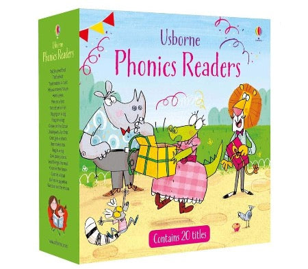 Usborne Phonics Reader Box Set - Paperback - Kool Skool The Bookstore