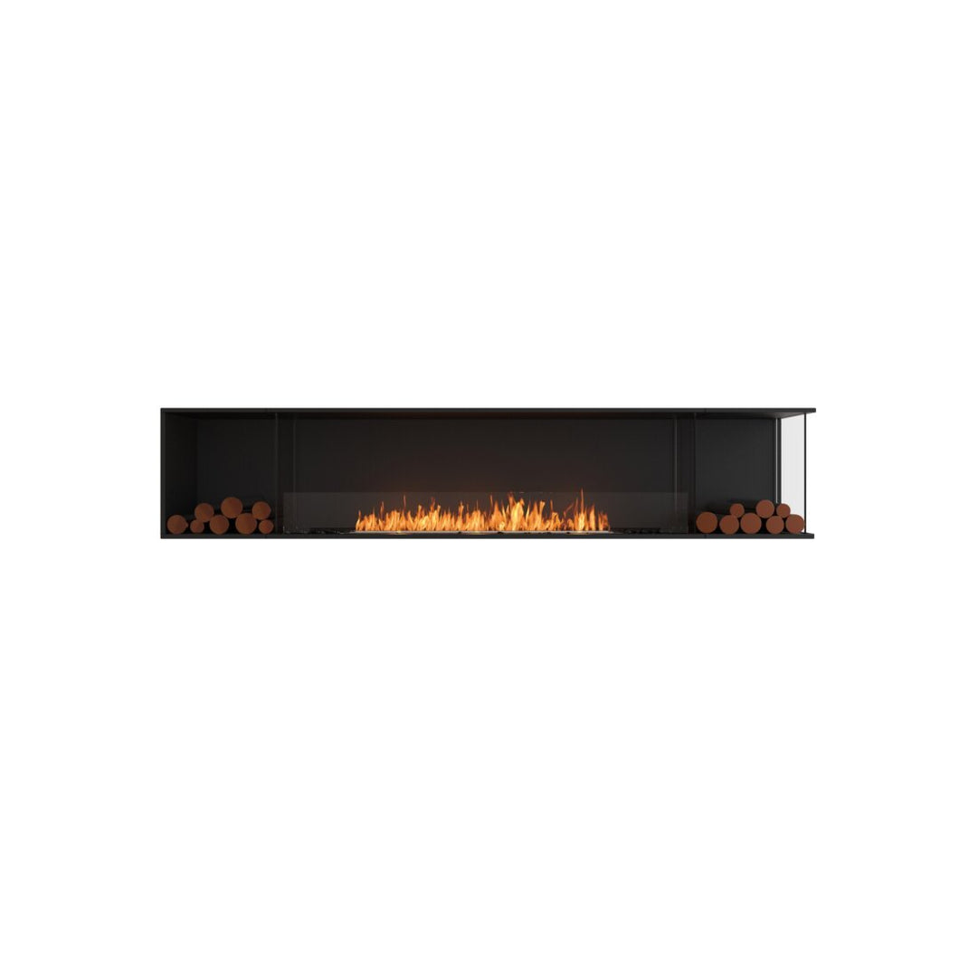 Flex 104RC.BX2: Right Corner Fireplace Insert - EcoSmart Fire