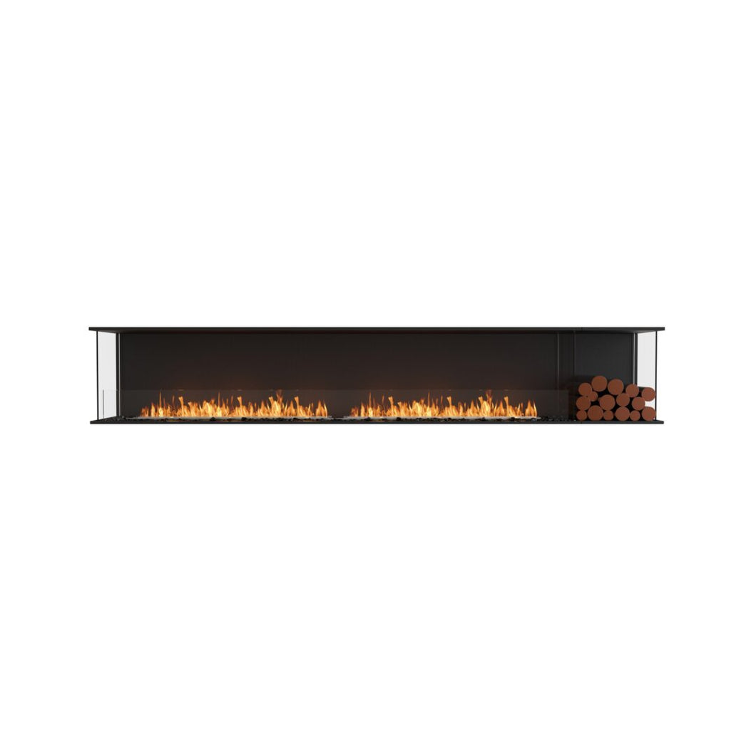 Flex 122BY.BXR: Bay Fireplace Insert - EcoSmart Fire