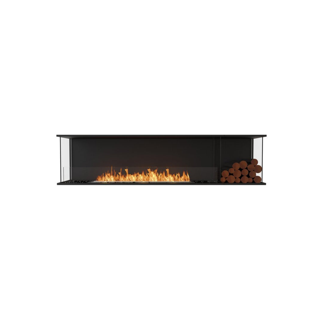 Flex 86BY.BXR: Bay Fireplace Insert - EcoSmart Fire