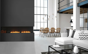 Flex 78RC.BX2: Right Corner Fireplace Insert - EcoSmart Fire