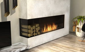 Flex 50LC.BXL: Left Corner Fireplace Insert - EcoSmart Fire
