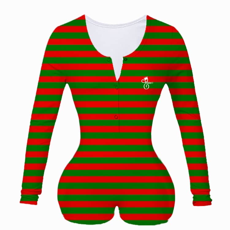 Preorder- Red/Green Stripes