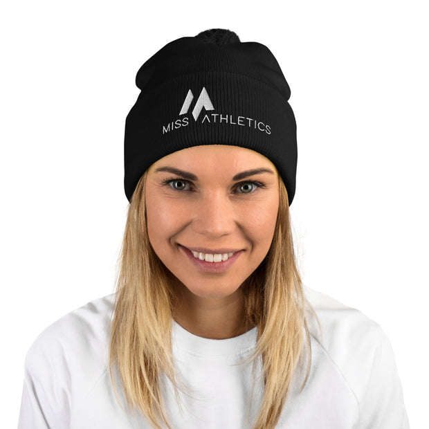 Miss Athletics Pom-Pom Beanie