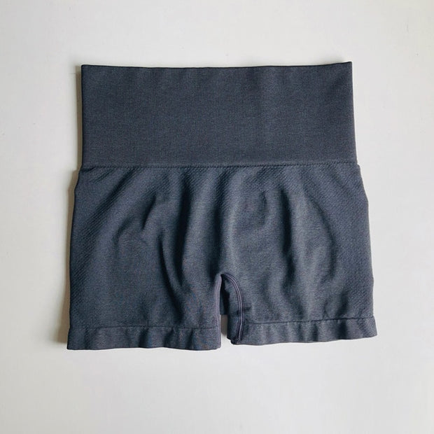 High Waist Scrunch Gym Shorts