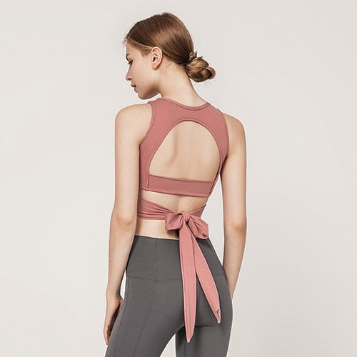 Tie Back Yoga Set