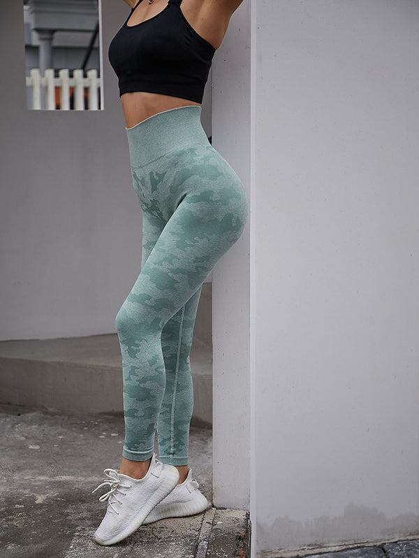 Camouflage Running Pants