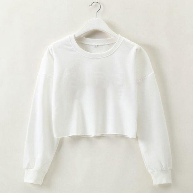 Crop Top Sweatshirt