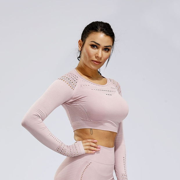 Knit Crop Tracksuit