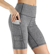 High Waist Compression Shorts