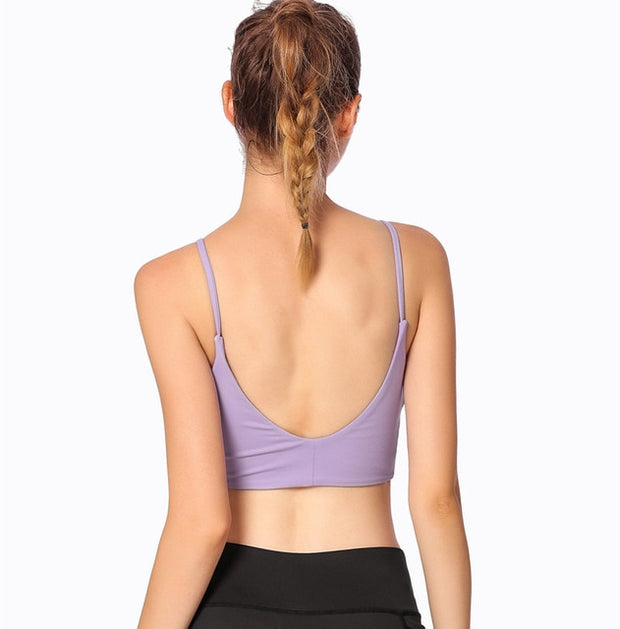 Scoop Back Athletic Bra