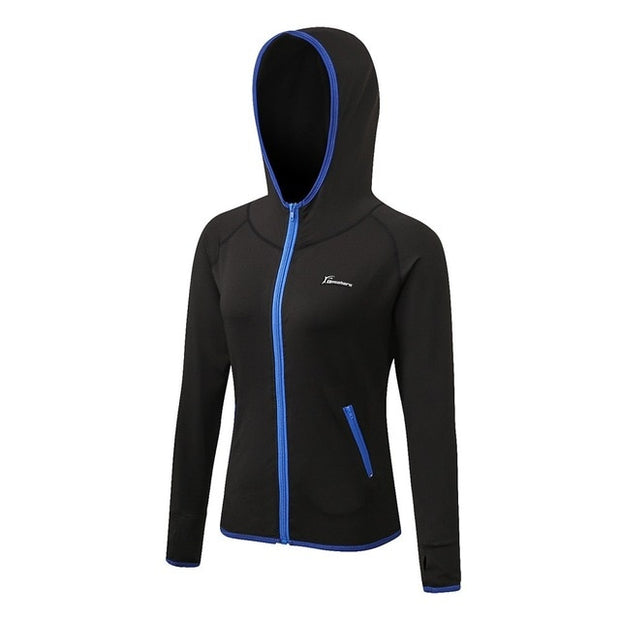 Long Zipper Running Jacket
