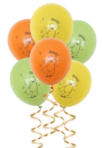 Barney Birthday Party Balloons, 6, 12 or 18ct
