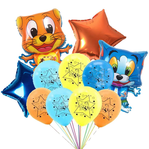 Tom and Jerry  Birthday Party 10 Piece Ensemble Balloons