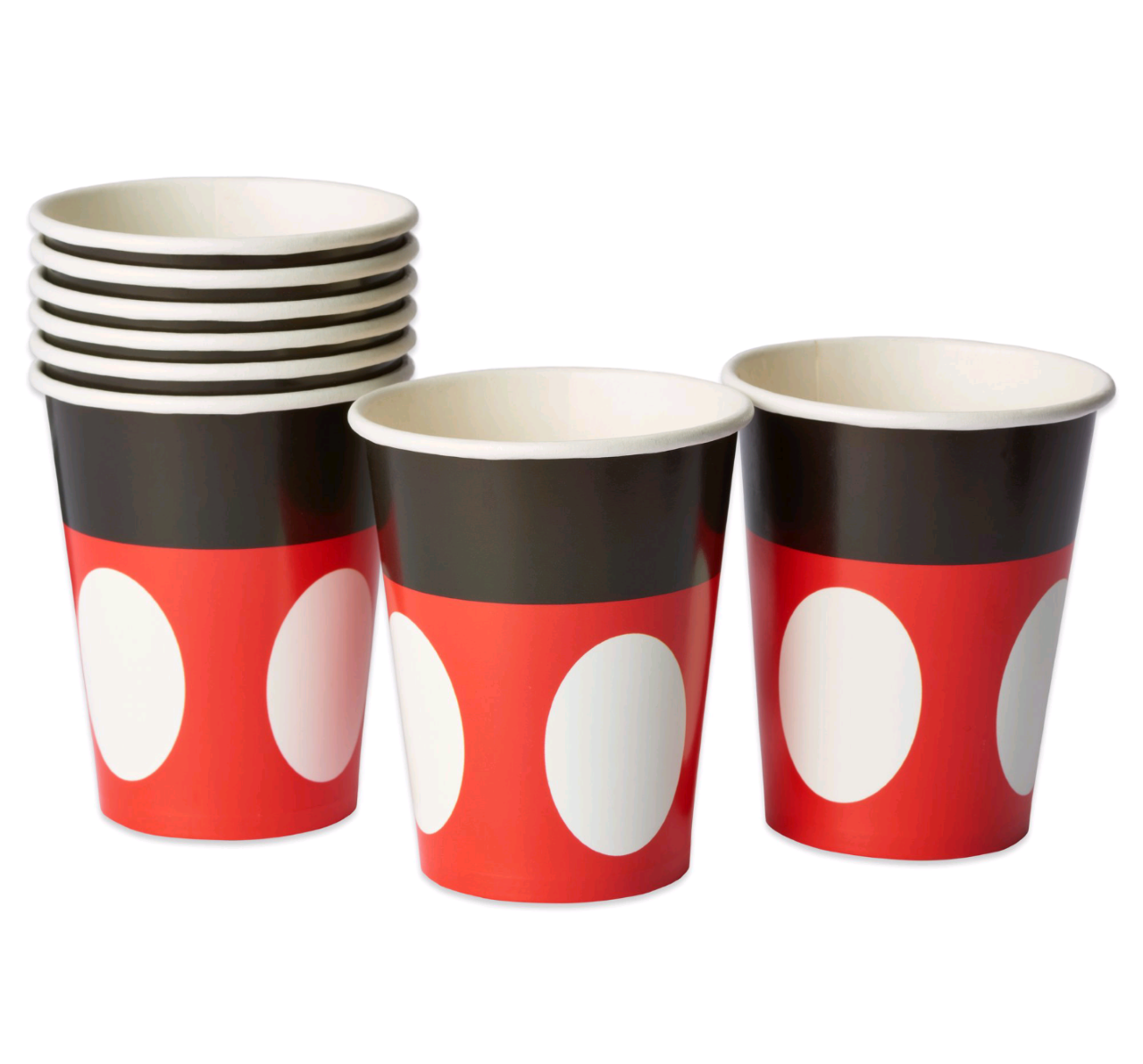 Classic Mickey Mouse Party Paper Cups, 8ct