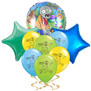 Plants vs Zombies Balloons, 8 Piece Set Ensemble